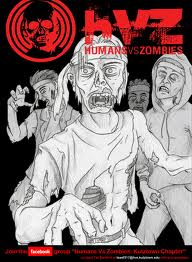 Poster de Humans Vs Zombies